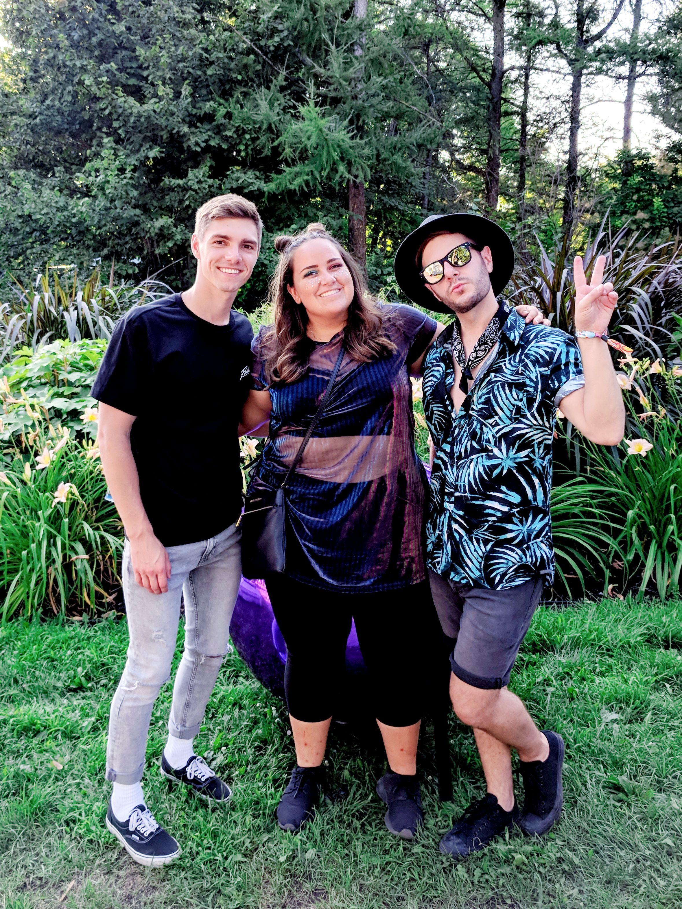 Look du samedi du festival Osheaga 2018 avec Anthony et Florence99